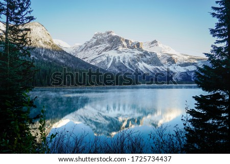 Beautiful nature landscapes in the morning in British Columbia, Canada #1725734437