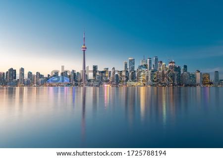 Toronto city skyline, Ontario, Canada #1725788194