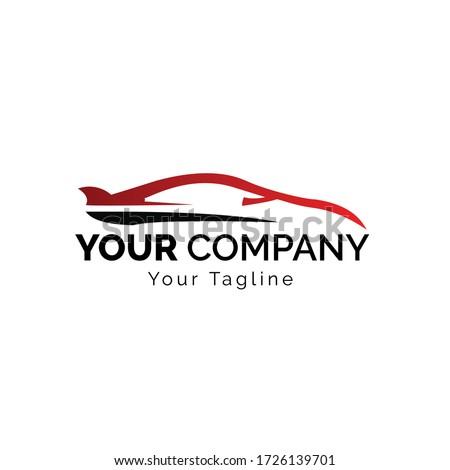 Car Logo,Vector logo design, for sports car logos, car repair shops, and car wash #1726139701