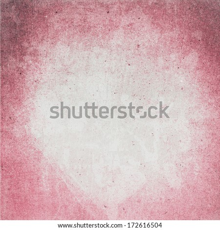 Designed  detailed grunge paper textured background. High resolution recycled colorful white and red cardstock.