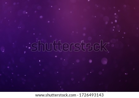 Water droplets that were turned into purple bokeh Royalty-Free Stock Photo #1726493143