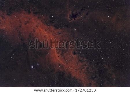 Barnard's Loop and M78 in Bi Color Narrowband #172701233