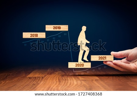 Post covid-19 era helping hand for business and economy concept. Government economic stimulus after covid-19. Secretary of the treasury (politician) stimulate economy for GDP growth in year 2021. Royalty-Free Stock Photo #1727408368
