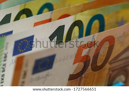 Banknotes it means paper money. The currency of the euro area have been in circulation since 2002 and Euro banknotes are not made of paper, but of pure cotton fiber to improve their durability. #1727566651