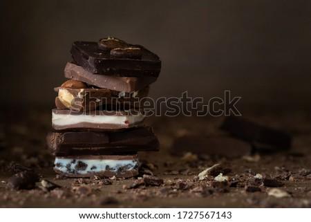 Chocolate Temptation Delicious Food Unhealthy #1727567143