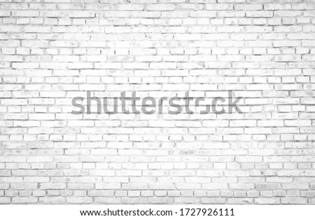 Abstract old white brick wall textured background #1727926111