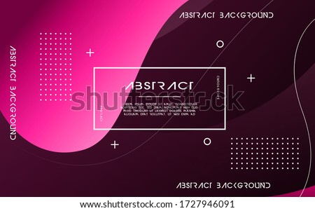 modern abstract liquid color background. dynamic textured geometric elements design.can be used on posters,banner,web and any more #1727946091