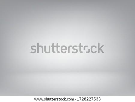 Abstract Blank Background with white and grey gradient design to white backdrop with smooth light and shadow. #1728227533