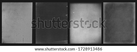Vintage Film texture Pack Old grain scans Royalty-Free Stock Photo #1728913486