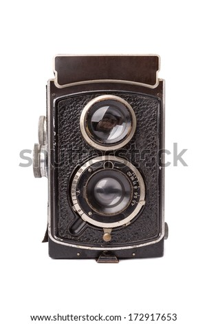Old camera isolated #172917653