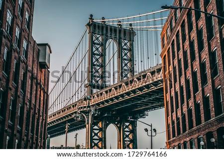 Manhattan Bridge through the eyes of Brooklyn