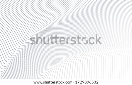 Vector Illustration of the gray pattern of lines abstract background. EPS10. Royalty-Free Stock Photo #1729896532
