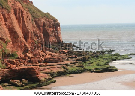 Jurassic Coast in the South of England Royalty-Free Stock Photo #1730497018
