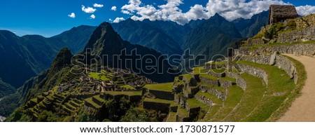 Ruins Of machu pichu  Peru  #1730871577