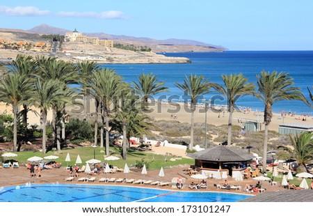 Beautiful Resort in Fuerteventura, Canary Islands. #173101247