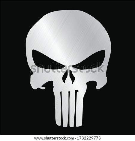 skull and Bones icon. Element of crime and punishment illustration, T-Shirt graphics design famous, vector design icon