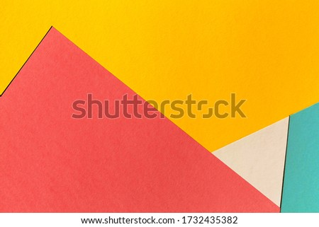 Geometric shapes background style photo. selective focus. copy space   #1732435382