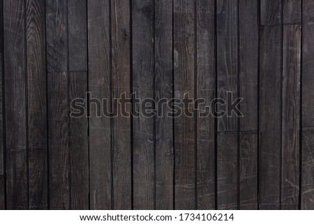 Old dark wooden texture for background #1734106214