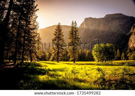 Natural Hills Picture With Growing (Shining) Sun Attractive Picture