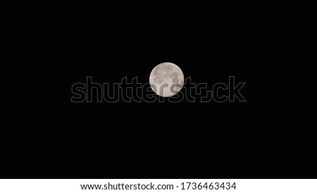 Picture taken of full moon in the month of June. A cycle that rotates and comes back. It can make a good background photo for using into a story telling or night portfolio. It is a Stars less night.