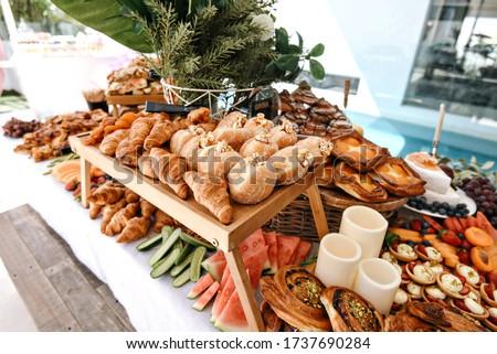 Grazing Platter Food Board Entertaining Royalty-Free Stock Photo #1737690284