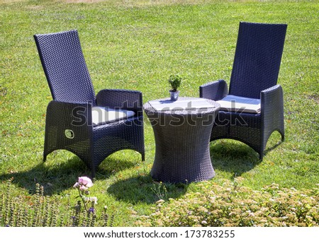table for two at a park #173783255