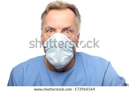 Close-up of a male surgeon #173966564