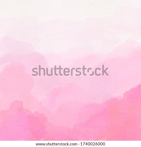 Pink watercolor ombre gradient texture Royalty-Free Stock Photo #1740026000