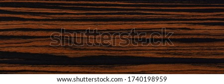 Expensive brown ebony veneer background for your unusual design project. High quality texture in extremely high resolution.