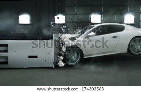 Car crash Royalty-Free Stock Photo #174303563