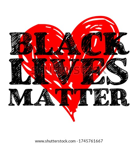 Black Lives Matter text vector vintage. stop racism. I can't breathe. stop shooting. don't shoot. black lives matter. lives matter. police violence. stop violence. poster. stop violence. protest #1745761667