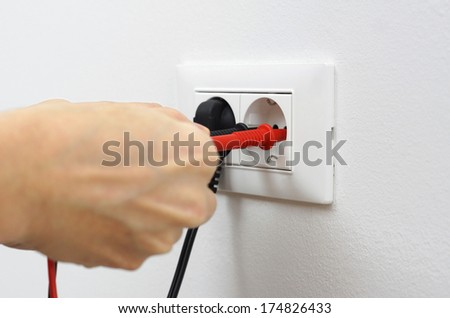 electrician on work #174826433