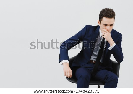 Boss man layer dismissal fear hatred issues depression crisis quarantine remote work undoing bad payment upset grimace failure cancel delay #1748423591