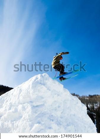 Vail, Colorado-February 2012: 2012 Winter TEVA Mointain Games. #174901544