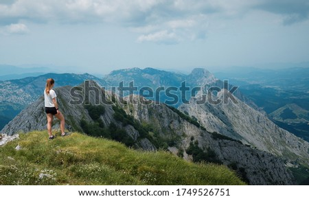 Anboto mountaing peak during a sunny day #1749526751