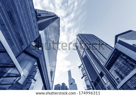 Hong Kong urban landscape, landmark buildings in the admiralty #174996311