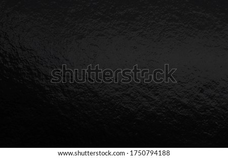 Black foil gradient texture background with uneven surface Royalty-Free Stock Photo #1750794188