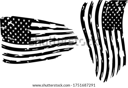 USA Flag - Distressed american flag