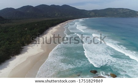 Lopes Mendes beach in Gran Island