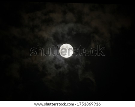 lunar eclipse moon on 7th July 2020