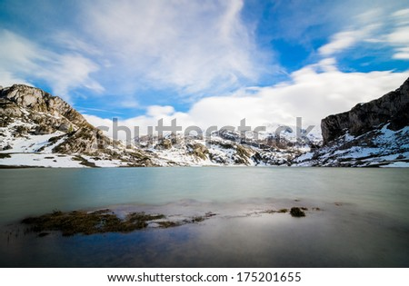Lake Ercina, one of the famous lakes of Covadonga #175201655