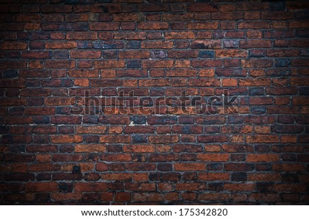 Old Brick Wall Grunge Background #175342820