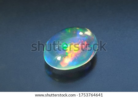 water opal Oval cut: Cabochon