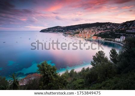 Villefranche sur mer Côte d'Azur Royalty-Free Stock Photo #1753849475