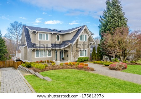 Luxury house in Vancouver, Canada. #175813976