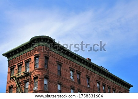 photo of a building in an urban area in the bronx new york