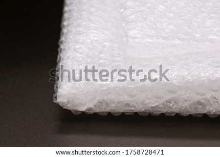 This is a picture of cushioning material.