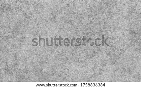 grey carpet texture background. grey carpet in cement wall pattern for rustic mood. interior floor covering material. #1758836384