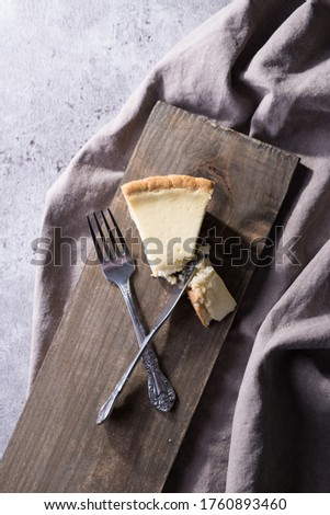 This is a picture of a piece of pie.