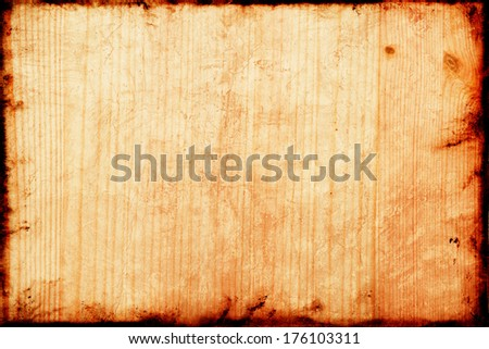 Old Beech wood texture. Detailed beech texture as natural wood background. #176103311